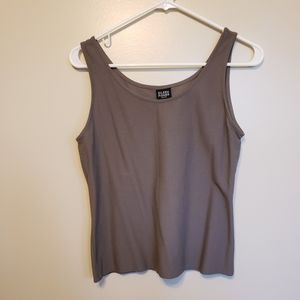 Eileen Fisher Taupe tank top camisole